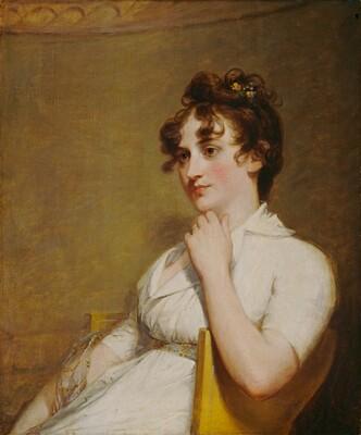 Eleanor Parke Custis Lewis (Mrs. Lawrence Lewis) 1804